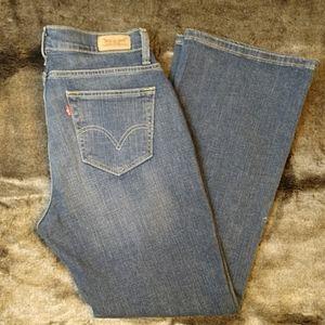 Levi's Bootcut Curvy Jeans 31 waist 30 length